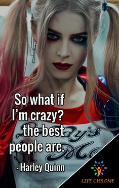 Harley Quinn quotes are the quotes for you to be inspired and get done more. Bitch Quotes, Joker Quotes, Girl Quotes, True Quotes, Qoutes, Harley Quinn Tattoo, Joker And Harley Quinn, Quotes By Famous People, People Quotes