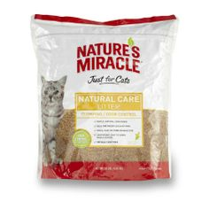 Nature's Miracle Just for Cats Corn Cob Cat Litter, 10-Pound - http://www.thepuppy.org/natures-miracle-just-for-cats-corn-cob-cat-litter-10-pound/