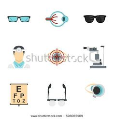 Find Optometry Icons Set Flat Illustration 9 stock images in HD and millions of other royalty-free stock photos, illustrations and vectors in the Shutterstock collection. Thousands of new, high-quality pictures added every day. Optician, Flat Illustration, Tool Set, Vector Icons, Digital Marketing, Royalty Free Stock Photos, Flat Style, Desktop, Display