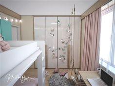 Návrh interiéru bytu Romantika v akcii, pohľad na hojdačku v detskej izbe Curtains, Home Decor, Nostalgia, Blinds, Decoration Home, Room Decor, Draping, Home Interior Design, Picture Window Treatments