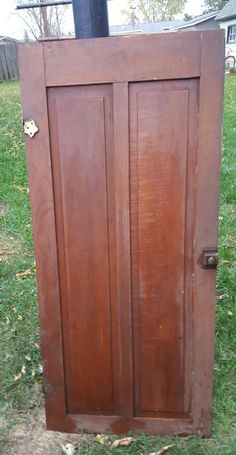 Old Wood Cabinet Door Antique Cupboard Architectural Wood Cabinet Doors, Old Wood Doors, Cupboard Doors, Barn Doors, Reclaimed Wood Floors, Diy Wood Floors, Diy Flooring, Diy Projects Etsy, Easy Wood Projects