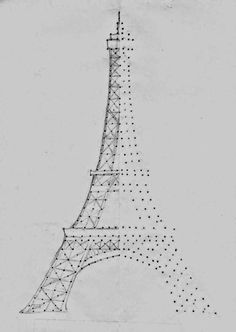 A Tray of Bliss: Eiffel Tower Pinhole Lamp DIY...