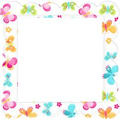 """Photo from album """"Hello Sunshine. Borders For Paper, Borders And Frames, Diy Birthday Invitations, Kids Background, Background Pictures, Blog Backgrounds, Hello Sunshine, Paper Frames, Floral Border"""