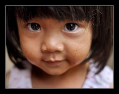 Le regard de Pang (Pang eyes)  by philippe MANGUINphotographies, via Flickr  North thailand - 2010