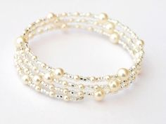 A personal favourite from my Etsy shop https://www.etsy.com/uk/listing/187480938/pearl-bracelet-bridal-jewellery-pearl