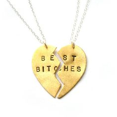 Best+Bitches+Friendship+Set,+$68, now featured on Fab.