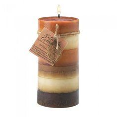 Sunrise Creek 12010162 Harmony Aroma Pillar Candle 3 X 6