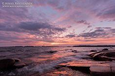 Sunset yesterday #Lauttasaari