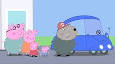 Peppa Pig: The New Car. Cartoons for Kids/Children