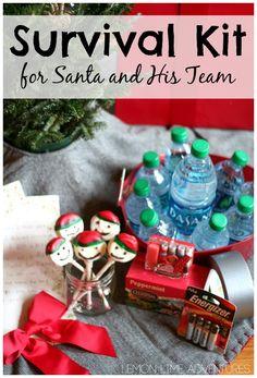 Survival Kit for Santa and His Team - Lemon Lime Adventures