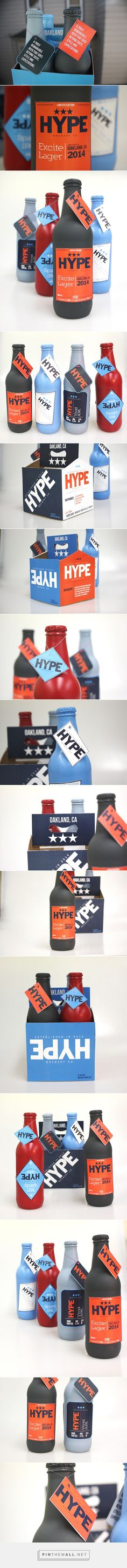 Hype Brewery Co. Packaging design by jiggy patel