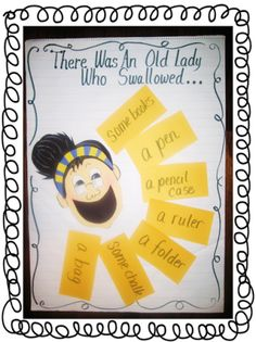 First Grade Wow: There Was an Old Lady
