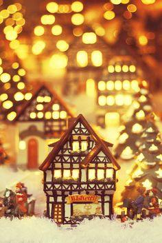 christmas village....