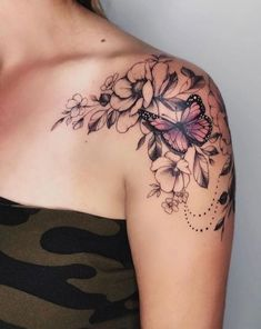 88 alluring sexy tattoo designs & tattoo placement ideas for Waman- # desi …. - tattoo feminina - 88 alluring sexy tattoo designs & tattoo placement ideas for Waman- # desi . Unique Tattoo Designs, Butterfly Tattoo Designs, Tattoo Designs For Women, Butterfly Sleeve Tattoo, Butterfly Tattoos For Women, Flower And Butterfly Tattoos, Flower Design Tattoos, Flower Tattoo Sleeves, Butterfly With Flowers Tattoo