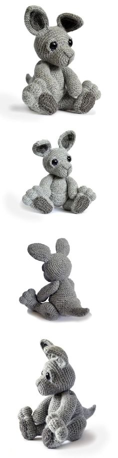 Evie the kangaroo / Amigurumipatterns.net