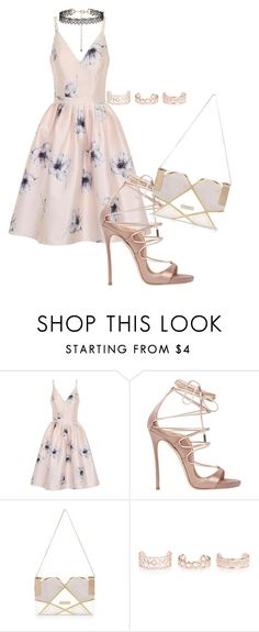 """""""Untitled #769"""" by wafa-az on Polyvore featuring Chi Chi, Dsquared2, River Island and New Look"""