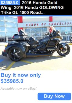 motorcycles And scooters: 2016 Honda Gold Wing 2016 Honda Goldwing Trike Gl 1800 Roadsmith Hr Signature Series BUY IT NOW ONLY: $35985.0