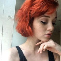 Models   Rainbow Colored Hair   Rhiannon McConnell
