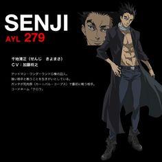 Senji Kiyomasa ( Deadman Wonderland)