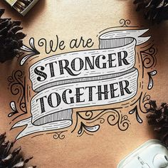 All inspiration in the lettering category Doodle Lettering, Hand Lettering Quotes, Creative Lettering, Types Of Lettering, Script Lettering, Calligraphy Letters, Typography Quotes, Typography Inspiration, Typography Letters