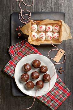 Party-Perfect Truffles: Mocha Balls