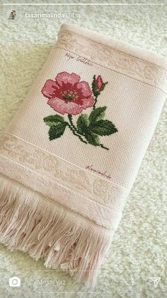 This Pin was discovered by Nev Silk Ribbon Embroidery, Hand Embroidery Designs, Cross Stitch Embroidery, Embroidery Patterns, Cross Stitch Borders, Cross Stitch Flowers, Cross Stitch Designs, Cross Stitch Patterns, Crochet Motif