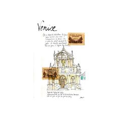 Illustrations ❤ liked on Polyvore featuring backgrounds, fillers, buildings, city and sketch