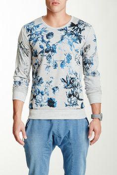 American Stitch Floral Sweatshirt