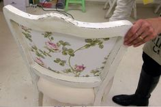 Furniture Update, Wood Furniture, Boat Crafts, Old Doors, Cottage Style, Home Projects, Shabby Chic, Chair, Home Decor