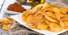 Recette de Chips sans huile au micro-ondes. Facile et rapide à réaliser, goûteuse et diététique. Ingrédients, préparation et recettes associées.