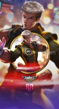 Wallpaper Chou Kung-Fu Boy Skin Mobile Legends Full HD for Android and iOS Dragon Ball Z, Android Mobile Games, The Legend Of Heroes, Mobile Legend Wallpaper, King Of Fighters, Mobile Legends, Lock Screen Wallpaper, Kung Fu, Fantasy Characters