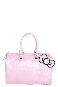 Loungefly - Hello Kitty Pink Embossed City Bag | Handbags