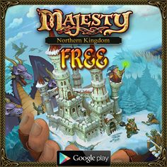 Majesty: Northern Kingdom on Google Play: https://play.google.com/store/apps/details?id=com.herocraft.game.majesty.ne.freemium