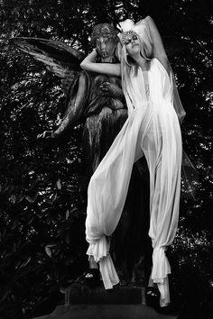 Garden of Angels.  Photographer: JULIA KIECKSEE.  Stylist: IRINA SKLADKOWSKI.