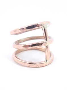 Pieces of Starr / Rose Gold Bone Ring