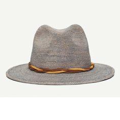 f3ca01f4d733c Blueberry Haze Natural Wide Brim Fedora hat front view Mens Wardrobe  Essentials