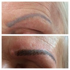 #semipermanentmakeup, #featherstrokeeyebrows