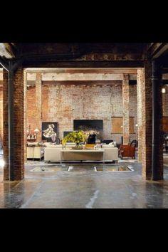 Warehouse conversion...