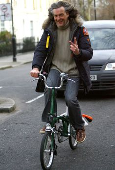 James May - Brompton folding bike
