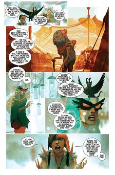 Art from Weirdworld #3 by Mike Del Mundo