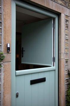 Flint composite stable door in Chartwell Green.