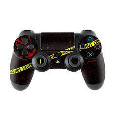 Sony Playstation 4 Controller Skin - Crime Scene by DecalGirl Collective | DecalGirl