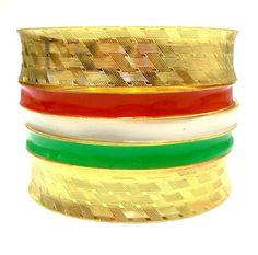 2014 Brasil World Cup Wrist Fashion Female Bracelets and Bangles.Italy Flag Symbolic Fashion Jewelry. Wide Gold Metal Bracelets $4.55