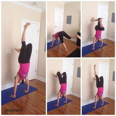 how to practice headstands (yoga)