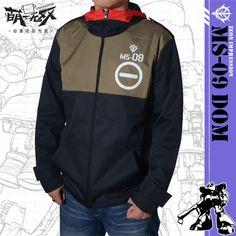 GUNDAM UC Zeon Cosplay Coat Jacket Hooded Waterproof COS Hoodie Men's Casual Sweatshirt Tops Free Shipping #Affiliate