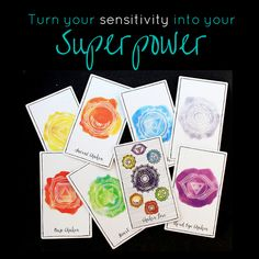 Learn how to work with your chakras to stabilise your emotional sensitivity and increase your intuitive sensitivity.