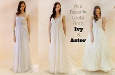 Ivy & Aster Wedding Gowns