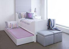 Sleigh Bed, Nursery - Kids Bedroom - Furniture - Beds