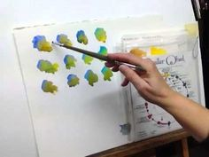 Art Tip Video: Mixing Greens with other Colors for Realistic Landscapes in Watercolor