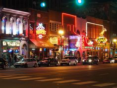 A trip to Nashville will not be complete without a night out on the honky tonks #OneofaKindNashville